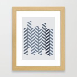 DENIM JEANS Framed Art Print