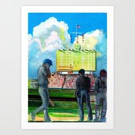 North-side Daydream Art Print