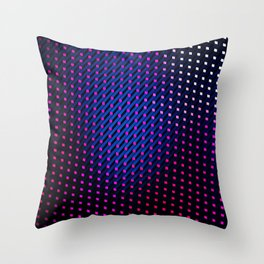 Staged Reality Throw Pillow