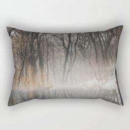 Frozen park Rectangular Pillow