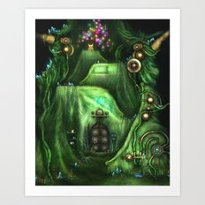 The Stem Room Art Print