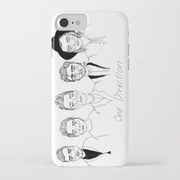 cactei iPhone & iPod Cases featuring One Direction by ☿ cactei ☿