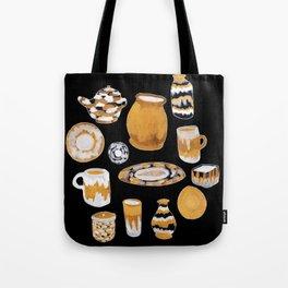 Rust Ceramics Tote Bag