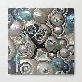 Cluster of Spheres Metal Print