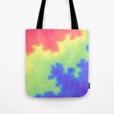 Rainbow Pride Flag Galaxy Tote Bag