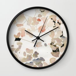 Petal Connection Wall Clock