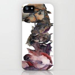 Horses #4 iPhone Case