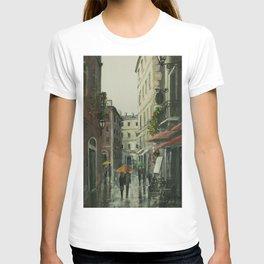 Somewhere around tenement houses T-shirt