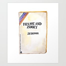 Franny and Zooey Art Print