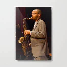 Melvin Butler from the Brian Blade and the Fellowship Band. XII Panama Jazz Festival Metal Print