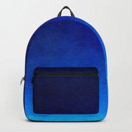 Cyan Circular Backpack