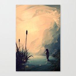 Evanescent Sunrise Canvas Print