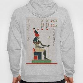 Horus  from Pantheon Egyptien (1823-1825) by Leon Jean Joseph Dubois (1780-1846) Hoody