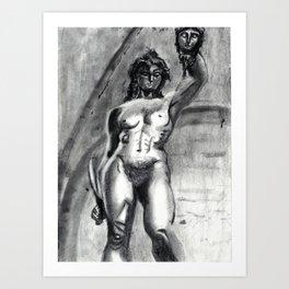 Bad Ass Ladies of Florence: Perseus Art Print