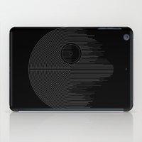 minimalist iPad Cases featuring Minimalist Battlestation by Ian Wilding