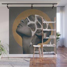 African Beauty Wall Mural