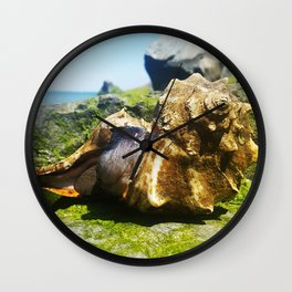 Whelks by the Bay Wall Clock