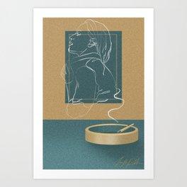 Chasing a Shadow Art Print