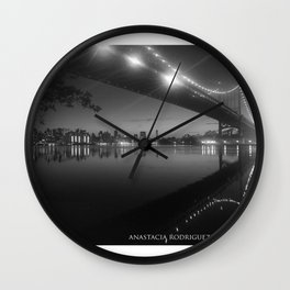 PASSING REFLECTION Wall Clock