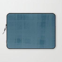 Flannel Layering in Steel Wool Laptop Sleeve