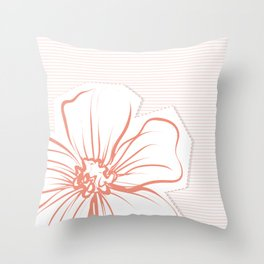 A piece of my garden 6 Throw Pillow