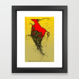 Chinese Zodiac Ox Framed Art Print