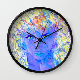 Electric Reality Wall Clock