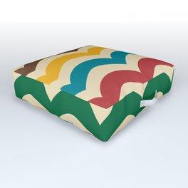 sweet summer waves Outdoor Floor Cushion