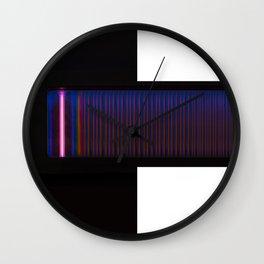 infinity - white version Wall Clock