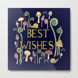 Best Wishes Metal Print
