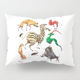 African animals 2 Pillow Sham