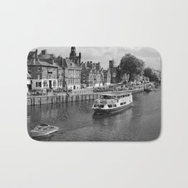King's Staith beside the river Ouse Bath Mat