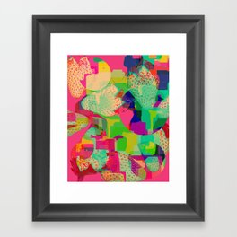 Strawberry Kisses Framed Art Print