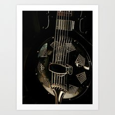 Resonator Art Print