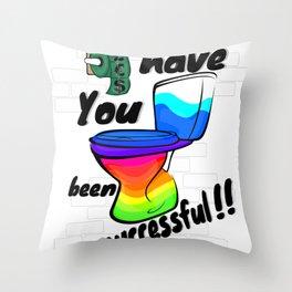 Successful Throw Pillow