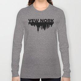 Yew Nork Long Sleeve T-shirt