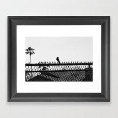 Days Go By Framed Art Print