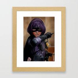 Hit Girl Framed Art Print