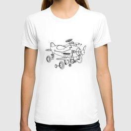 Pedal Plane T-shirt