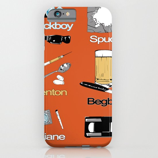 Trainspotting vector iPhone & iPod Case