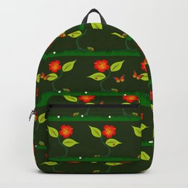 Plants and flowers Backpack