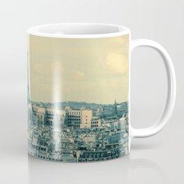 Paris In Blue Coffee Mug