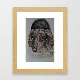 My Duke Framed Art Print
