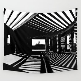 Shadows and Light Wall Tapestry