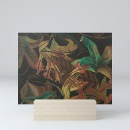 Fall Leaves Mini Art Print