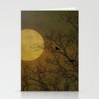 dark side Stationery Cards featuring Dark Side by RDelean