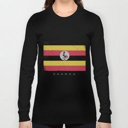 Uganda Flage Long Sleeve T-shirt