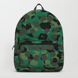 Emerald Leopard Spots Backpack