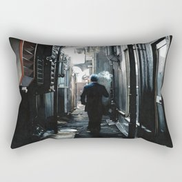Dark Alley in Tokyo Rectangular Pillow