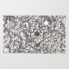 Phosphenes Schematic Rug